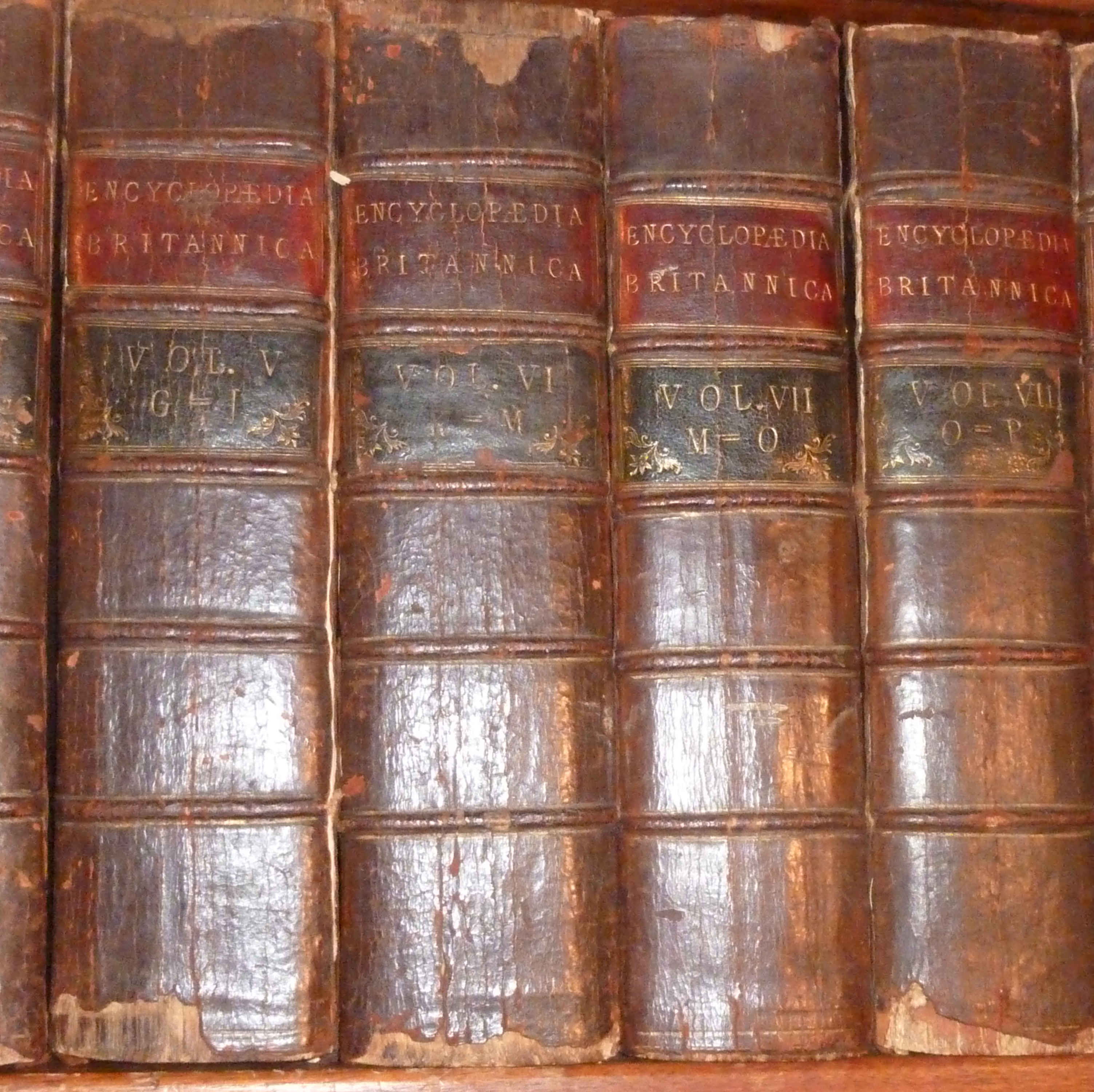 Encyclopedia Britannica First 1st Second 2nd Third 3rd Fourth 4th ...